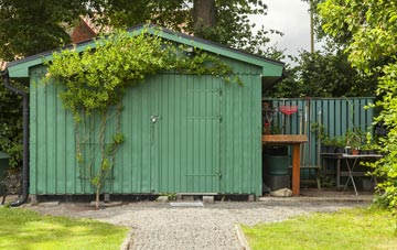 benefits of Dundee City garden storage sheds